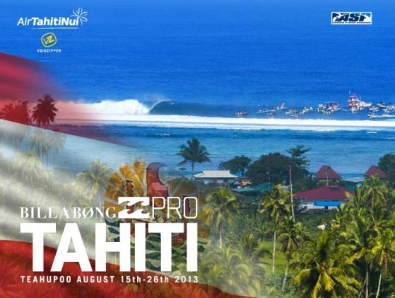 Billabong Tahiti Pro Wildcard