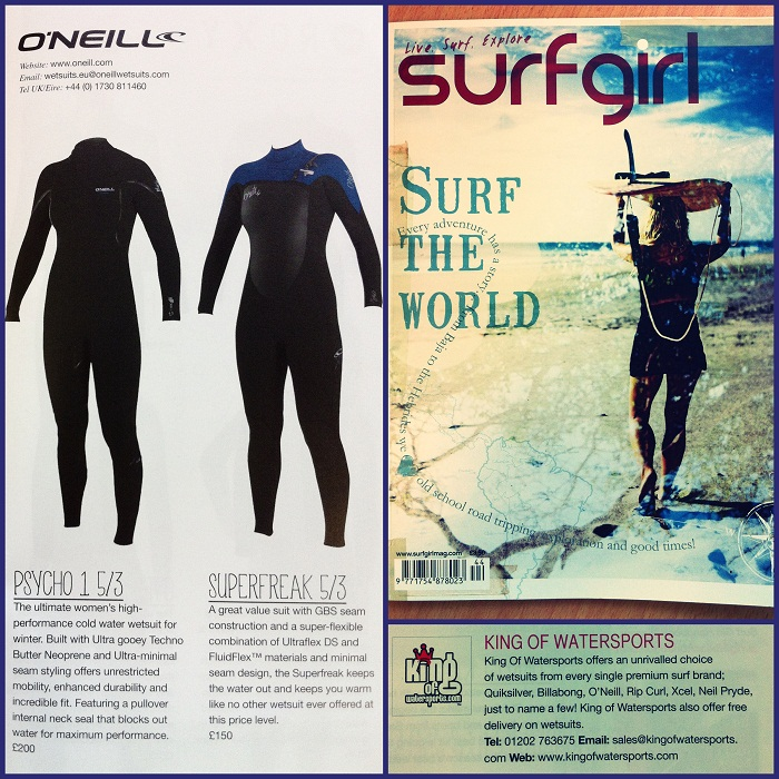 Wetsuits in surf girl resize