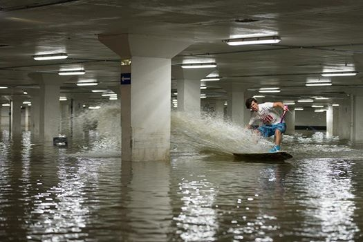 Size - Jorge Gill in flooded car park cred_ marc roe