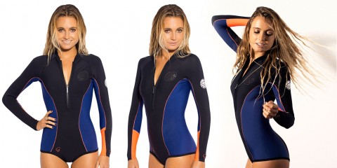 Rip Curl Womens 1mm G Bomb Spring Wetsuit