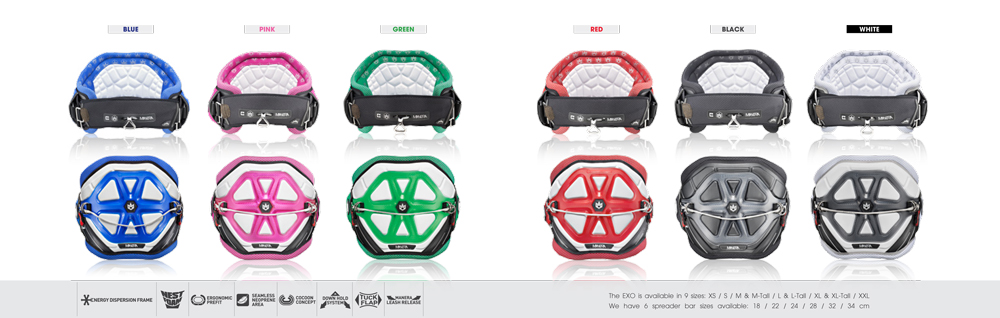 Manera EXO Harnesses 2015 Color Range