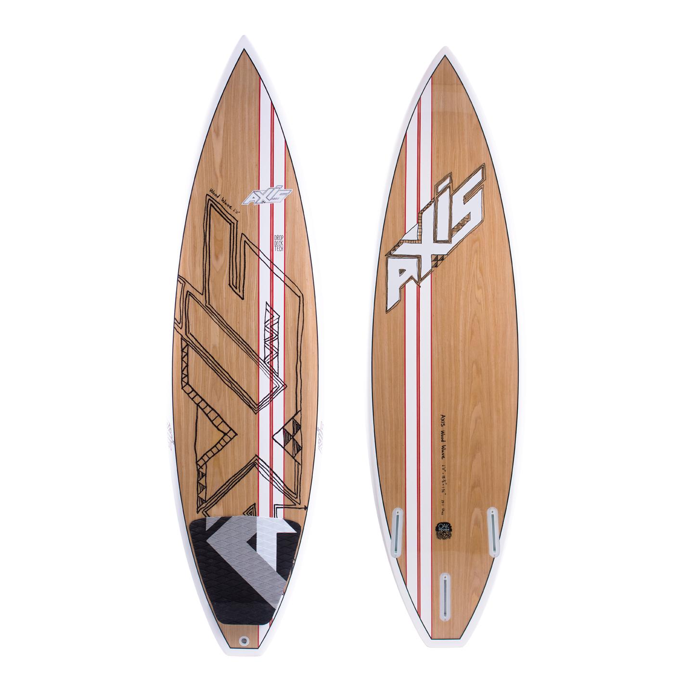 Axis Kiteboarding Wood Pro Wave 2015 Kite Surfboard