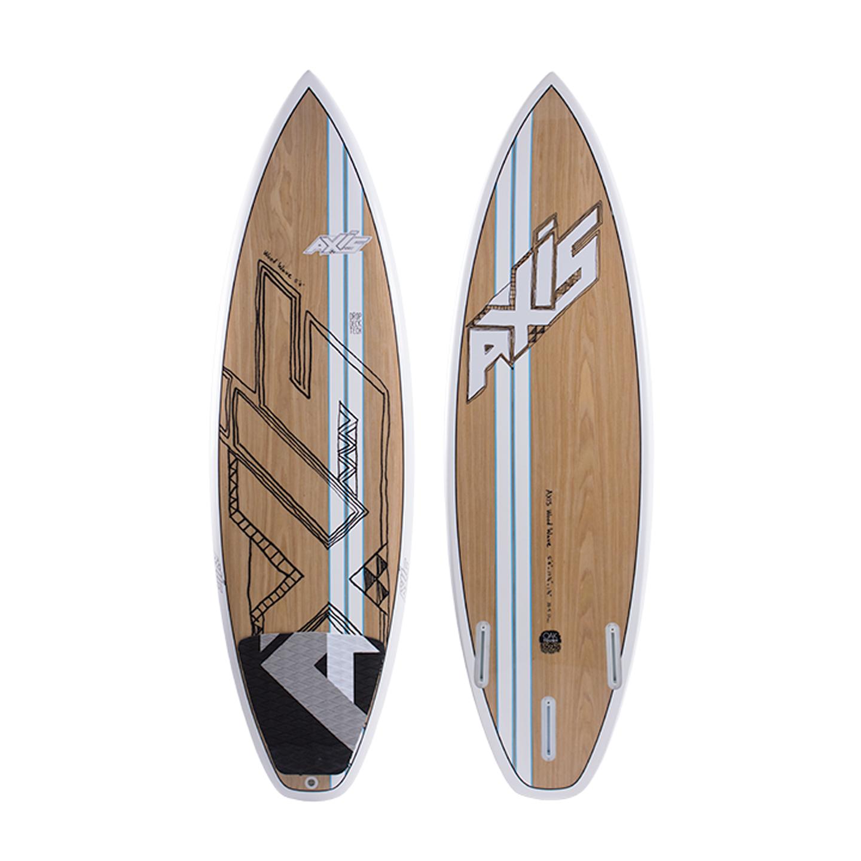 Axis Kiteboarding Wood Wave 2015 Kite Surfboard