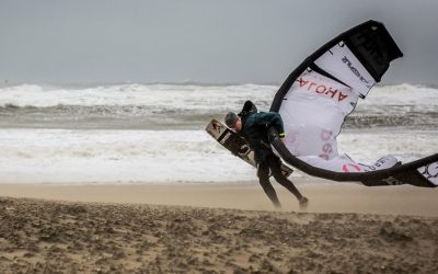 Reuben Lentens Kitesurfing Come back in Code Red