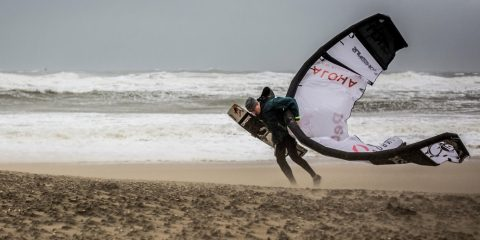 Reuben Lentens Kitesurfing Come back in Code Red